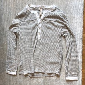 Brand New w/ tags long-sleeve striped blouse